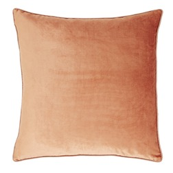 Плюшевая подушка в теплой цветовой гамме NIGELLA 50*50 (Copper)
