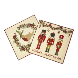 Новогодние открытки NUTCRACKER PACK OF 10 CHARITY CARDS 15*14,5 (Multi)