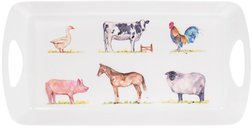 Поднос 41 cm Medium Tray Country Life Farm  20*41*4 (Multi)