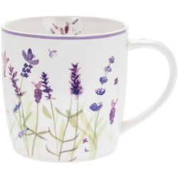 Чашка Ceramic Lavender Garden Breakfast Mug  12*9*9 (Purple)