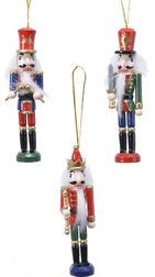 Елочная игрушка Hanging Traditional Firwood Nutcrackers