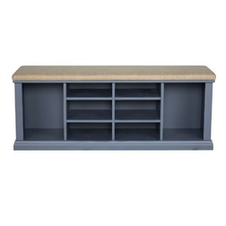 Банкетка DORSET SHOE SHORAGE BENCH 55 * 120 * 46 (Dusky Seaspray)