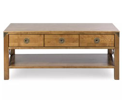 Кавовий стіл BALMORAL 3 DRW COFFEE TABLE 47 * 110 * 60 (Honey)