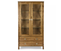 Шафа BALMORAL 2DR 2 DRW DISPLAY CABINET 181 * 99 * 40 (Honey)