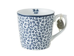 Чашка FLORIS MINI 7,5*8, 240ml (Blue)