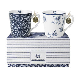 Набор чашек SWEET ALLYSUM & CHINA ROSE SET OF 2: 8,8*9, 350ml (Blue)