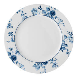 Столовая тарелка CHINA ROSE DINNER PLATE Ø26 (Blue)