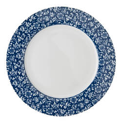 Столовая тарелка SWEET ALLYSUM DINNER PLATE Ø26 (Blue)