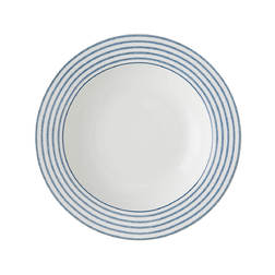 Суповая тарелка CANDY STRIPE DEEP PLATE Ø22 (Blue)