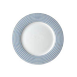 Тарелка CANDY STRIPE PLATE Ø23 (Blue)