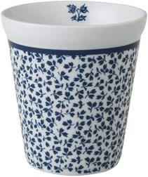 Фарфоровый стакан FLORIS COFFEE CUP 270ml (Blue)
