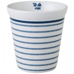 Фарфоровый стакан CANDY STRIPE COFFEE CUP 270ml (Blue)