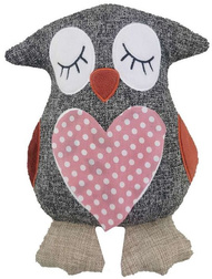 Ограничитель для двери OWL DOORSTOP (Grey/Polka Dot)