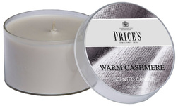 Аромасвеча WARM CASHMERE TIN 6,5*4, 100g (White)