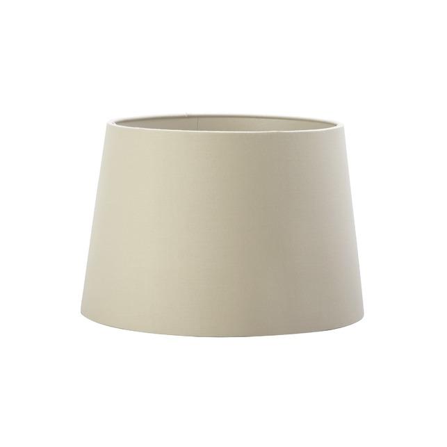 Стильный абажур цилиндрической формы цвета мокко 10 MOCHA SHADE METALLIC