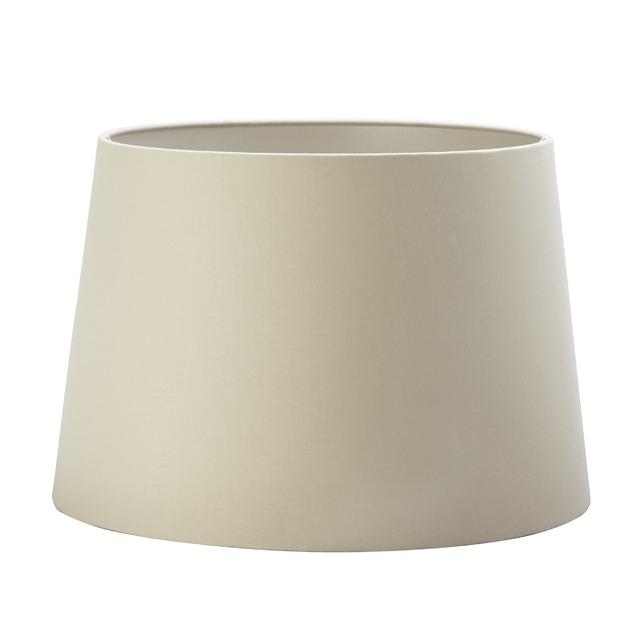 Красивый абажур цилиндрической формы цвета мокко 14 MOCHA SHADE METALLIC