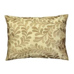 Декоративная подушка роскошного золотого цвета с вышивкой BERKELY 30*40 (Gold)