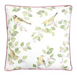 Декоративная подушка квадратной формы с красивым принтом AVIARY GARDEN 45*45 (Camomile)