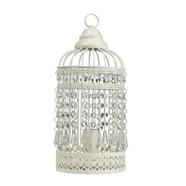 Декоративная настольная лампа BIRDCAGE (Ivory)