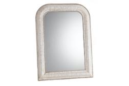 Большое прямоугольное зеркало с закругленными верхними краями OLIVIA LARGE (Ivory)