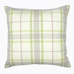 Декоративная подушка в клетку квадратной формы COTTINGHAM 50*50 (Multi Green)
