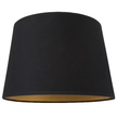 Абажур черного цвета с золотой изнанкой 12 BLACK SHADE GOLD