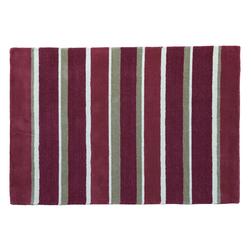Большой ковер в широкую полоску красного цвета BEXLEY STRIPE 170*240 (Cranberry)