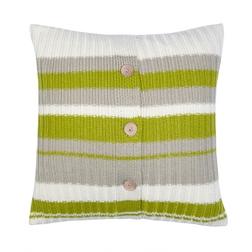 Вязанная подушка HARLAND 45*45 (Olive)