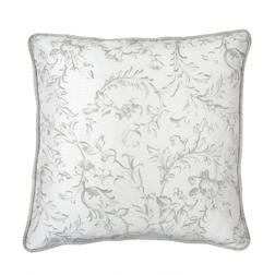 Квадратная декоративная подушка IRONWORK SCROLL 45*45 (Dove Grey)
