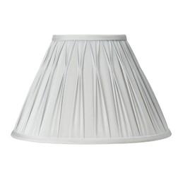 Абажур классической формы большого размера и серебристого цвета 14 FENN (Silver)