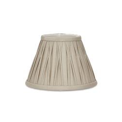 Классический большого размера абажур бежево-серго цвета 14 FENN (Bamboo)