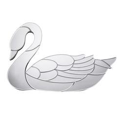 Зеркальный декор на стену в форме лебедя SWAN MIRROR 60*40