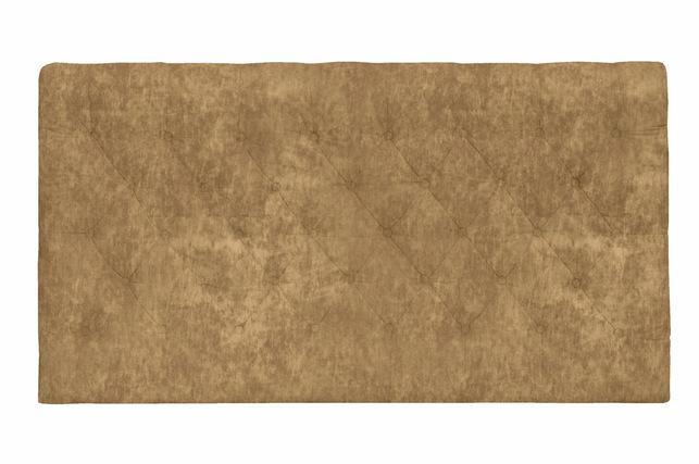 Мягкое изголовье в плюшевой ткани прошито пуговицами STANTON 5FT 91*155*10 (BAND E/Caitlin Biscuit)