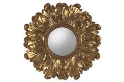 Настенное зеркало в форме цветка LILA 88 (Gold)