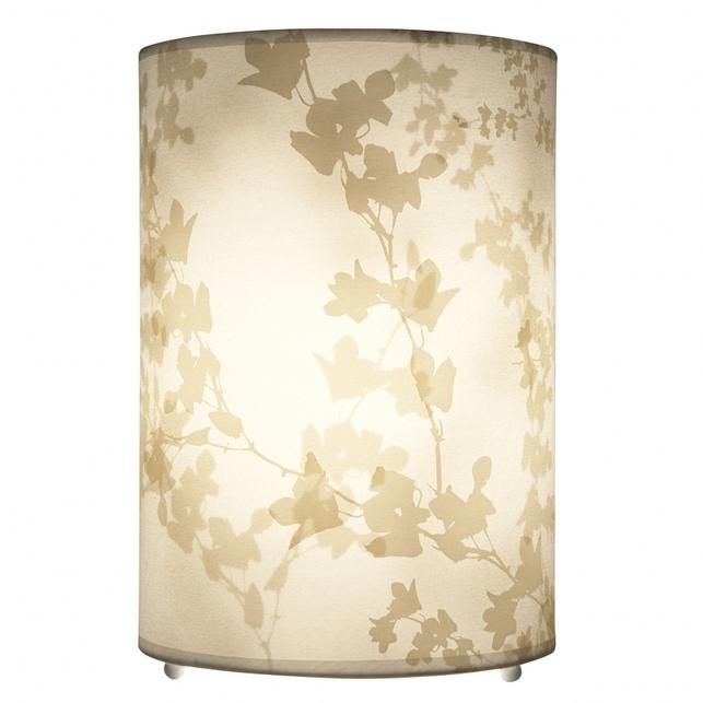 Лампа цилиндрической формы EVIE SILHOUETTE (Off-White)