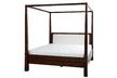 Потрясающая кровать большого размера GARRAT DRK 4 POST BED 6FT 200*191*217 (Chestnut)