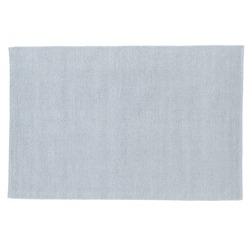 Шерстяной ковер нежно-голубого цвета в рубчик HOXTON 120*180 (Seaspray)