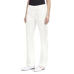 Льняные штаны классического прямого кроя TR 827