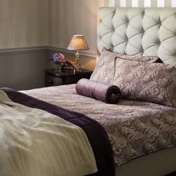 Набор постели с двойным пододеяльником фиолетового цвета BROOKFIELD DB 200*200, 50*75 set of-2 (Grap