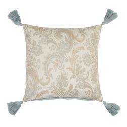 Красивая декоративная подушка квадратной формы BAROQUE 43*43 (Seaspray)