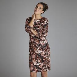 Платье джерси с красочным цветочным узором MD 103