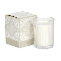 Ароматическая свеча в подарочной упаковке светло-бежевого цвета BEACHCOMBER BOX 10*9*9 (Linen)