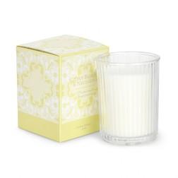 Ароматическая свеча в подарочной упаковке с ароматом цитрусовых CITRUS BLOSSM BOX 10*9*9 (Yellow)