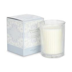 Ароматическая свеча с запахом жасмина и льна FRESH LINEN BOX 10*9*9 (Blue)