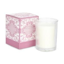 Ароматическая свеча с запахом спелой шелковицы MULBERRY DAMASK BOX 10*9*9 (Raspberry)