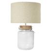 Настольная лампа в виде банки MARINA JAR H48 (Natural)