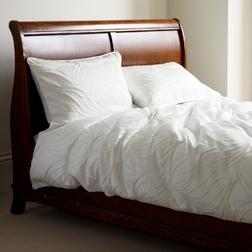 Одинарный набор постели кремового цвета JACEY JACQUARD SG 137*200 (Cream)