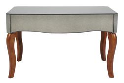 Зеркальный кофейный столик с выдвижным ящиком ARIELLE COFFEE TABLE 46*86*56