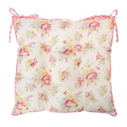 Квадратная подушка для сидения HOLIDAY FLORAL SEAT PAD 38*38 (Multi/Up Rose)