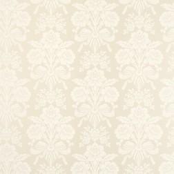Бумажные обои бежевого цвета со светлым цветочным рисунком TATTON (Linen)
